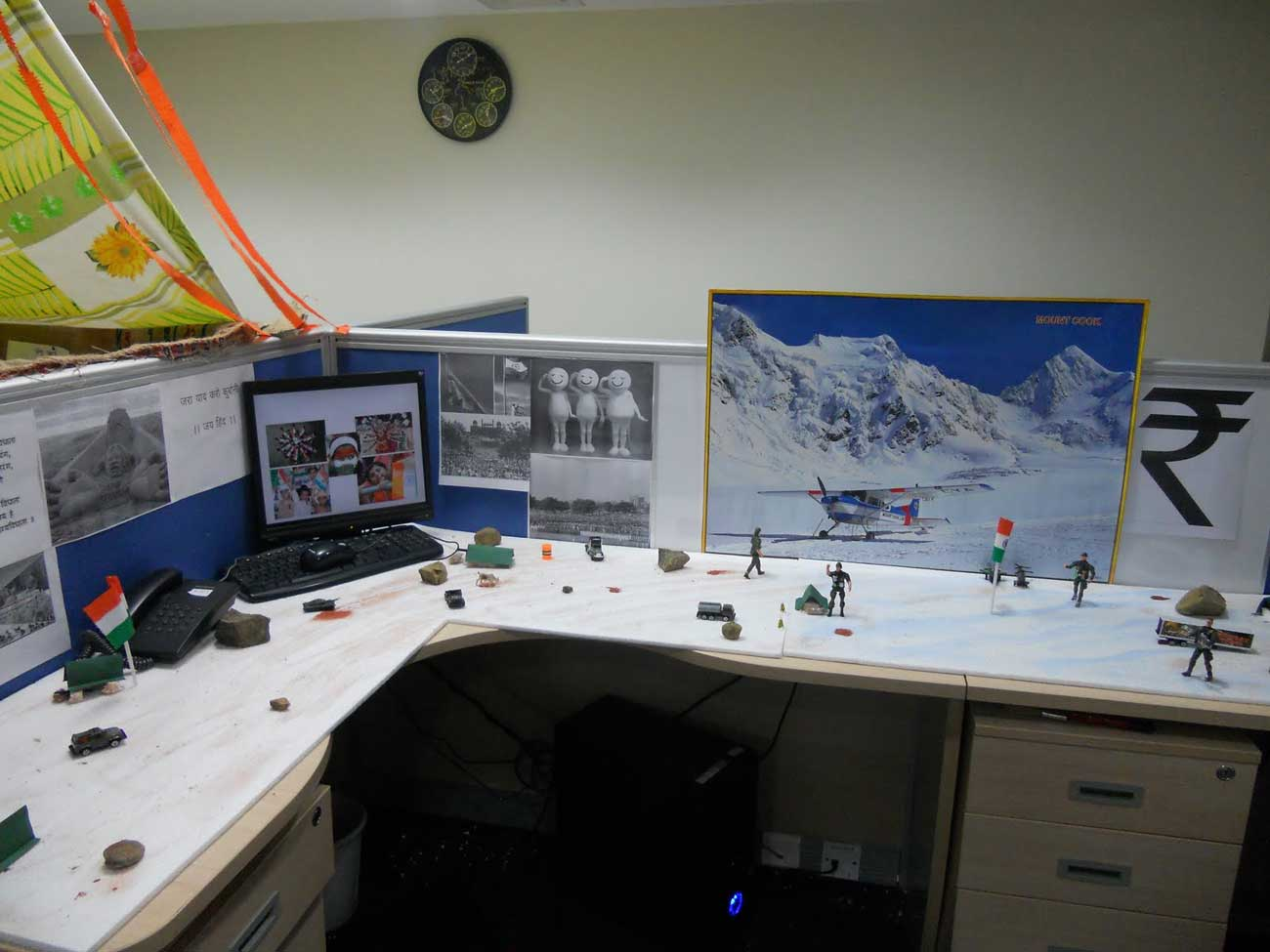 Adventure Cubicle Decoration Design