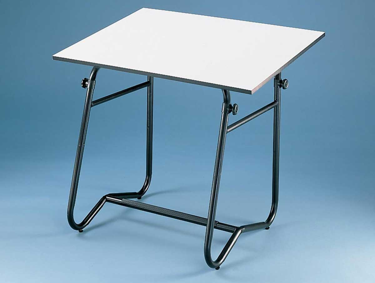 Alvin Integra Foldable White Drafting Table