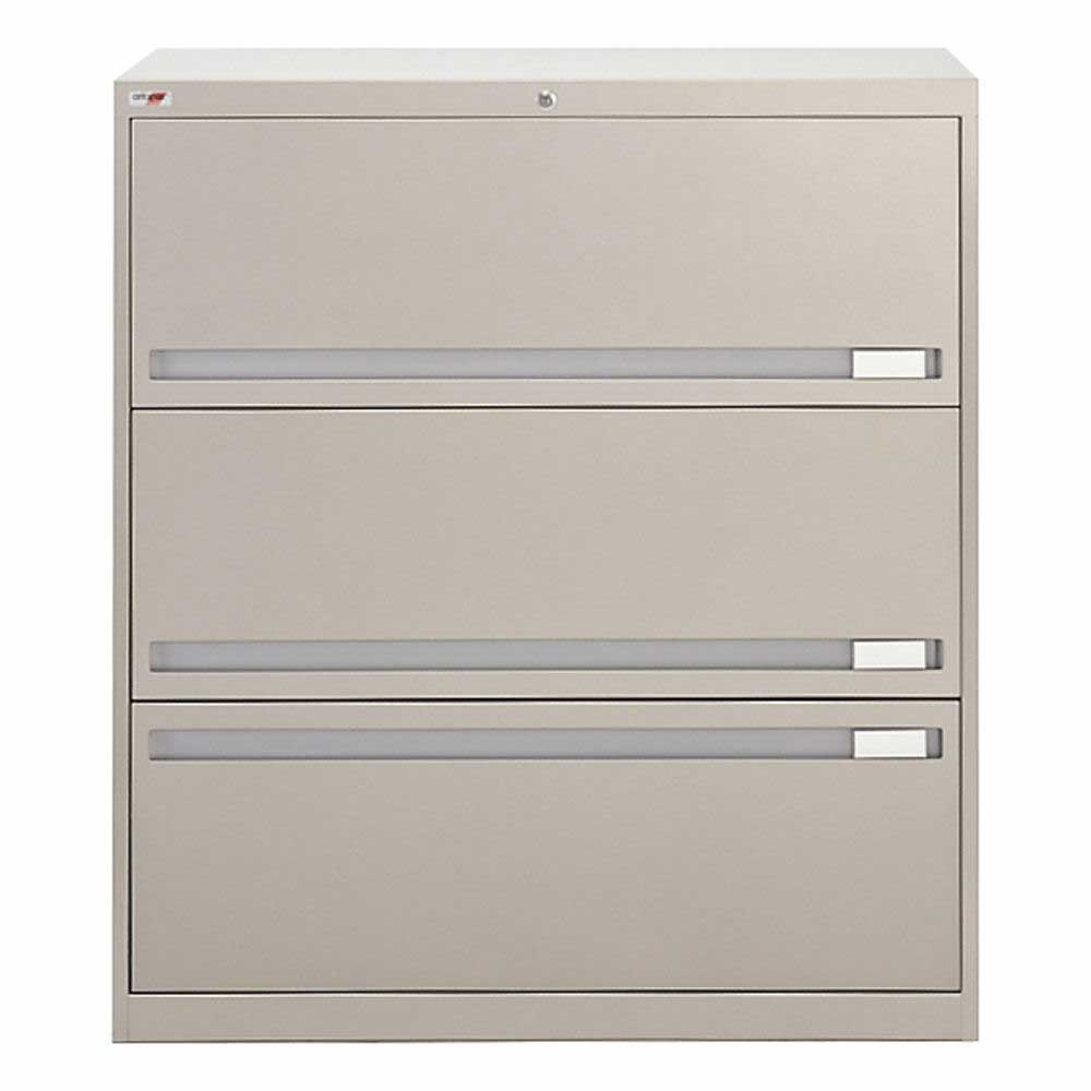 Artopex 3 Drawers metal lateral file cabinets
