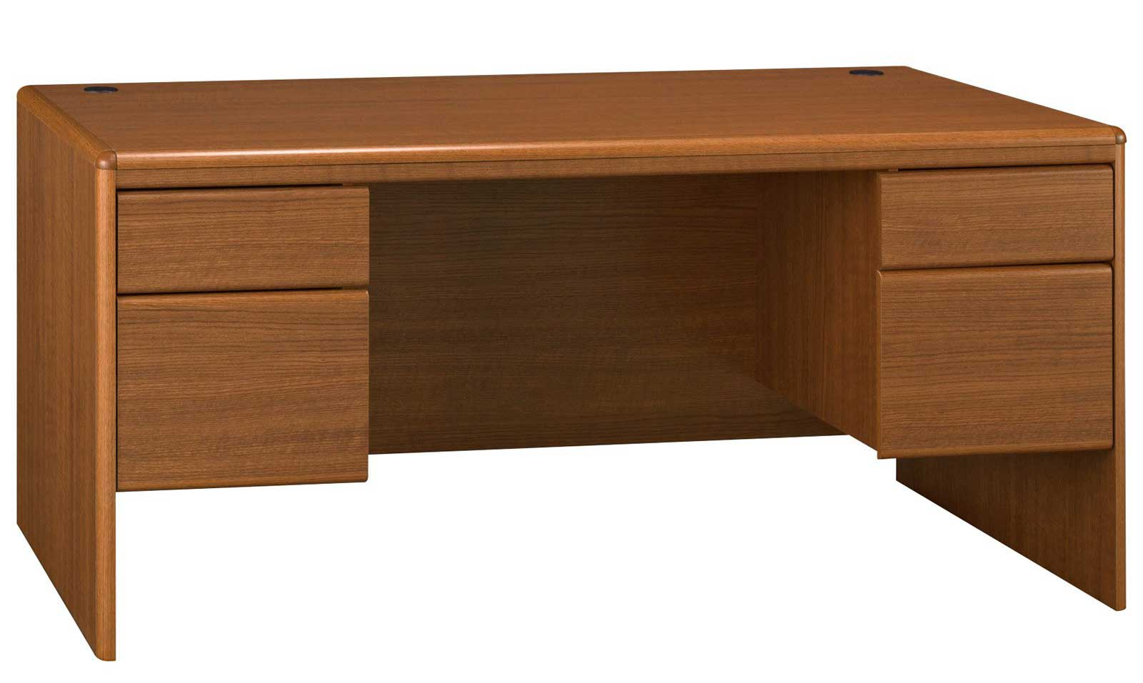 Bush Northfield Dual Pedestal Wooden Computer Desk