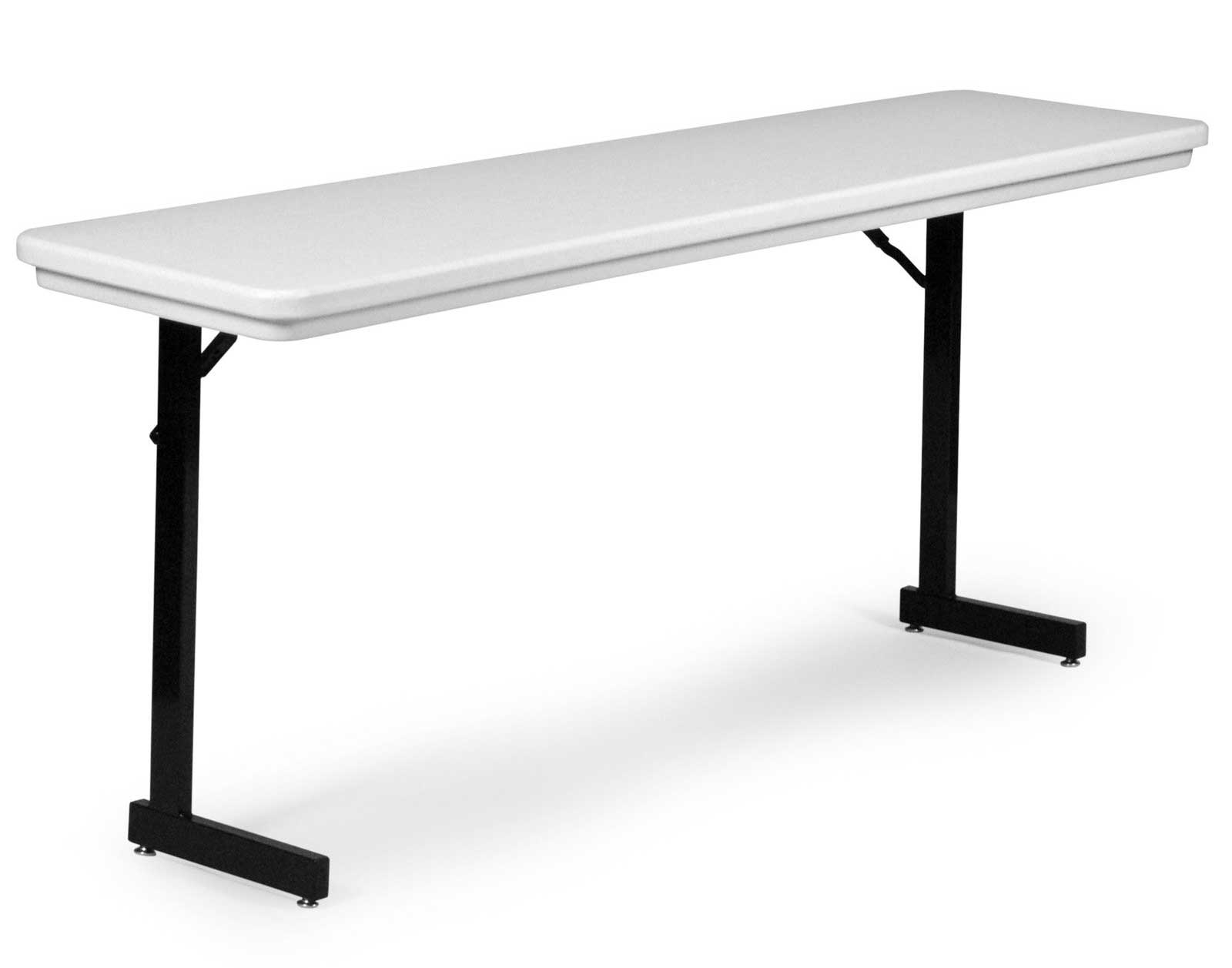 Correll T-Leg Rectangle Full Length Folding Table