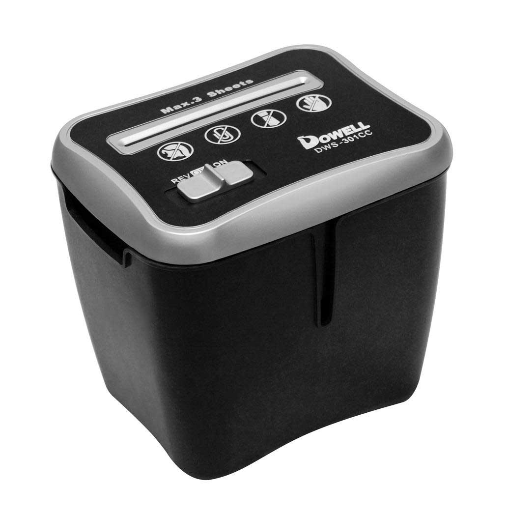 Dowell compact office paper shredder