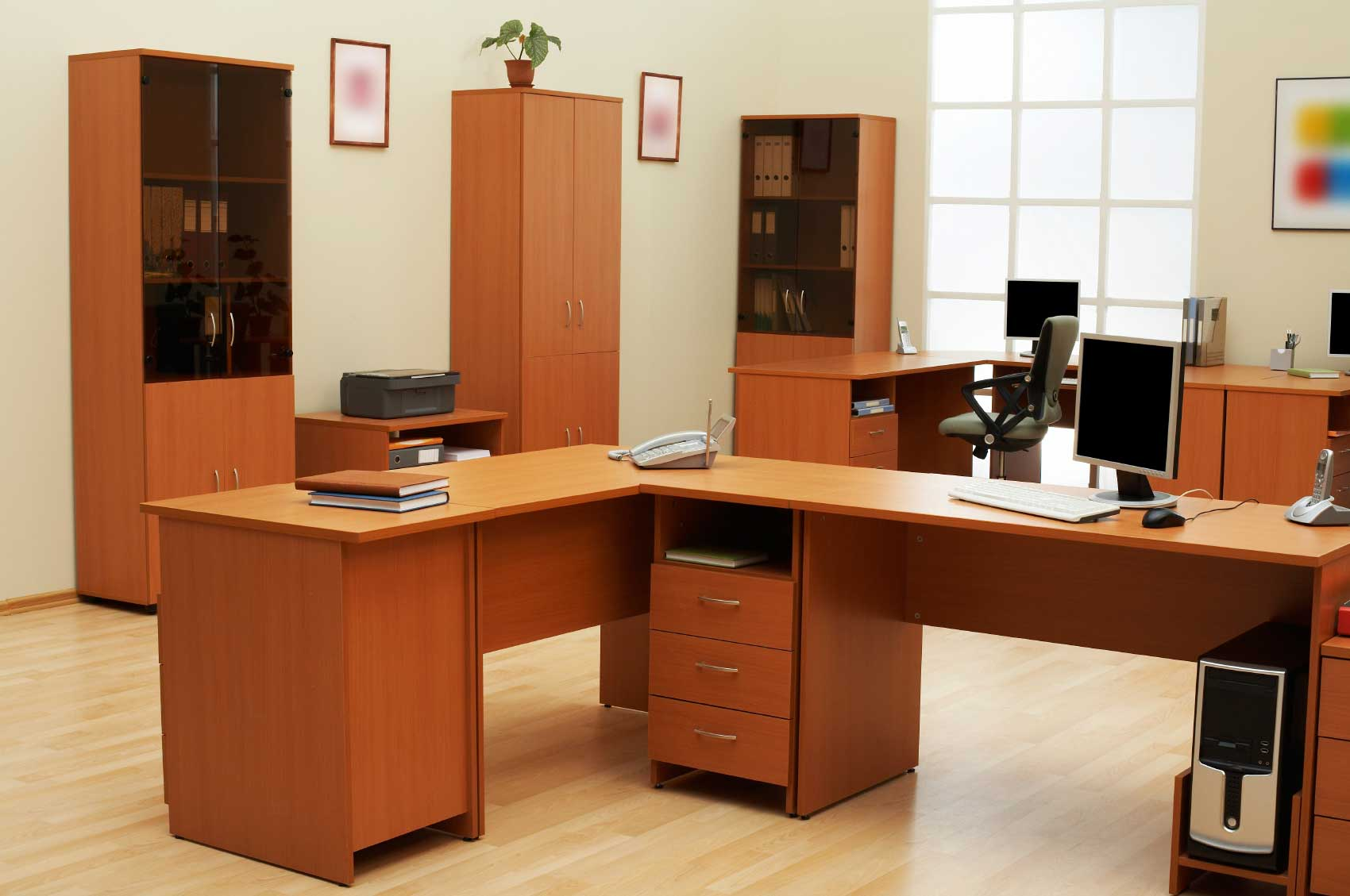 Environmentally Friendly Filing Cabinet Desk Storage