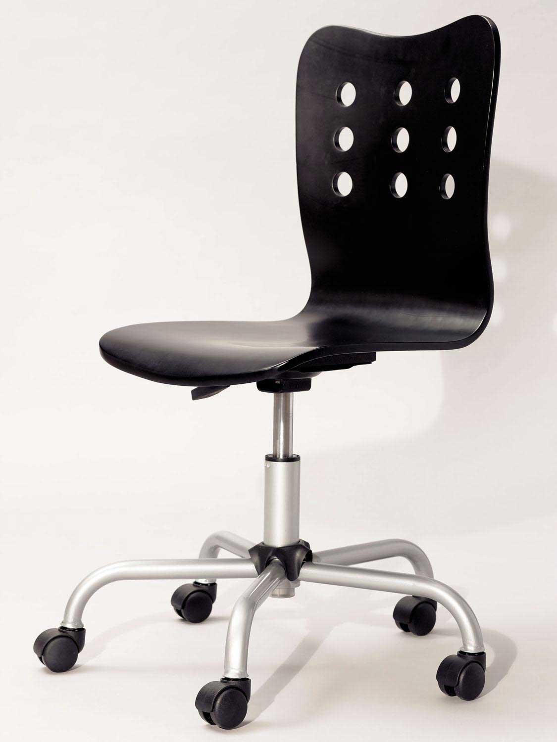 Ergonomic Swivel Computer Chair without Armrest