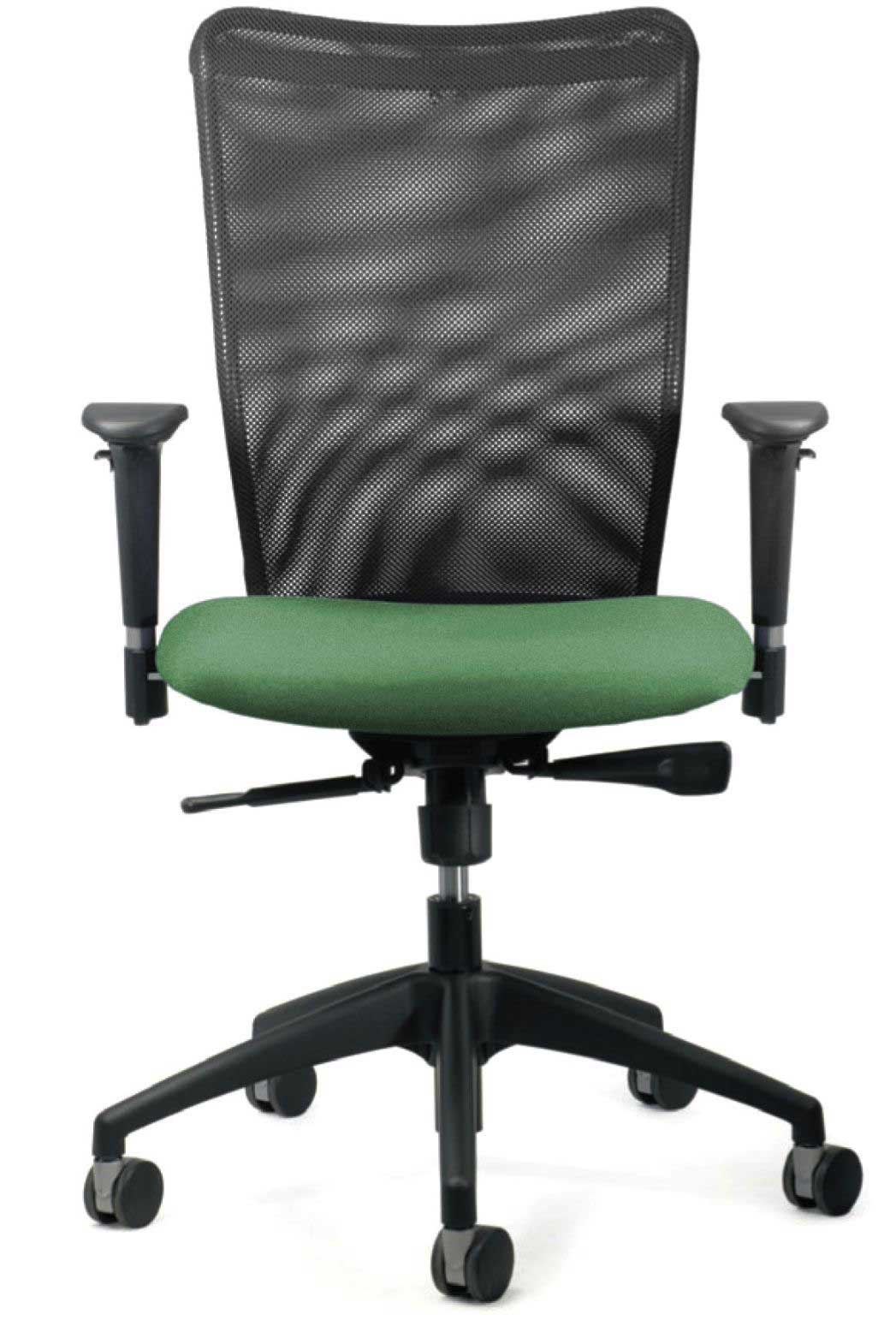 Ergonomic mesh office chair with armrest