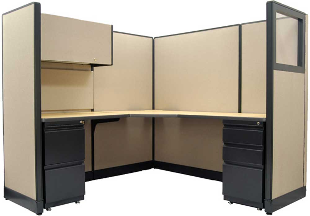 Haworth office furniture work panel devider