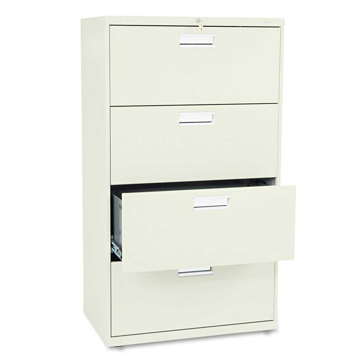 Hon Lateral File Cabinet with Four Drawer