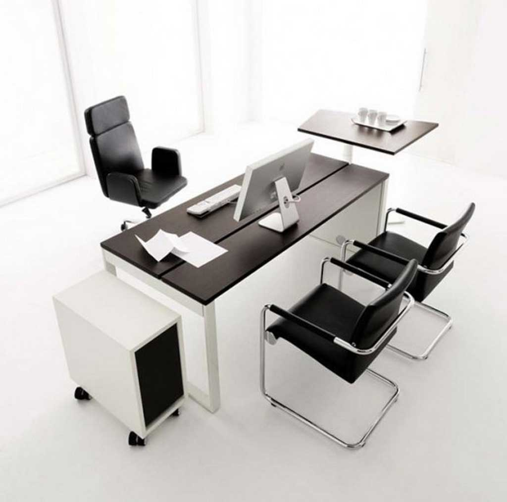 Huelsta simple office desks furniture design
