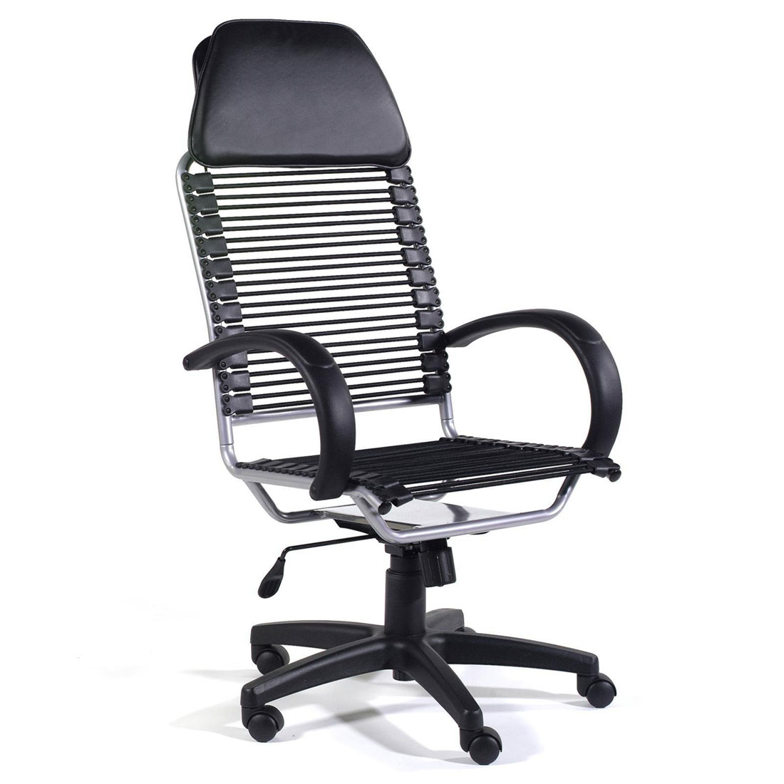 Ital Modern Beetle Black Modern Office Chair