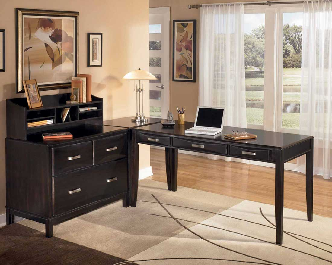 Kira Oak Modular Home Office Furniture Sets