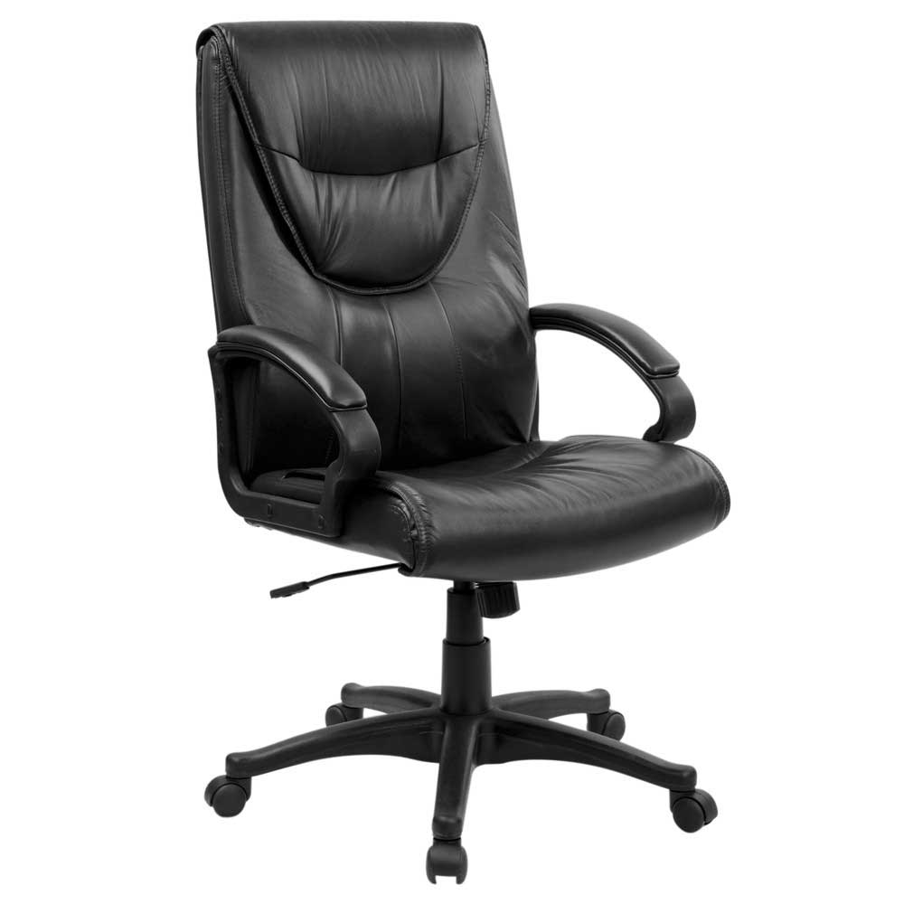 Leather Ajustable High Back Executive Swivel Office Chair
