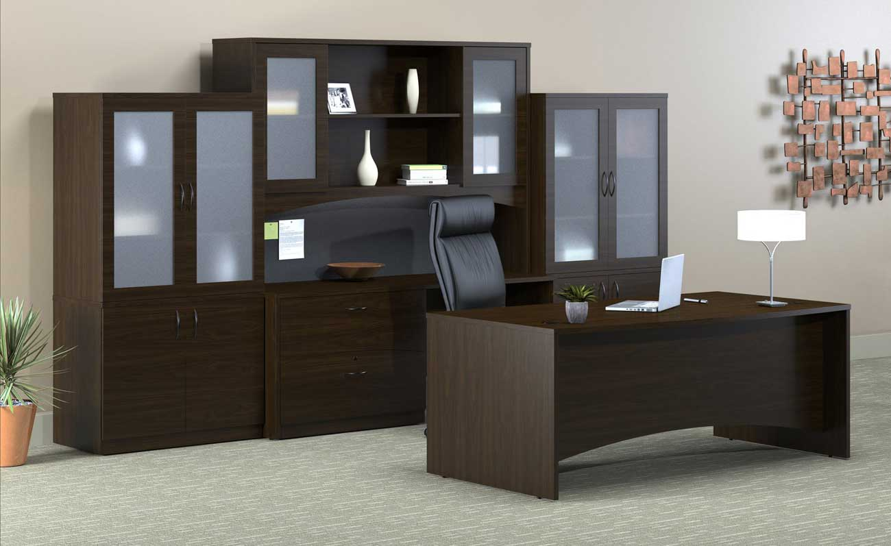 Mayline Brighton Smart Office Furniture Desks Sets