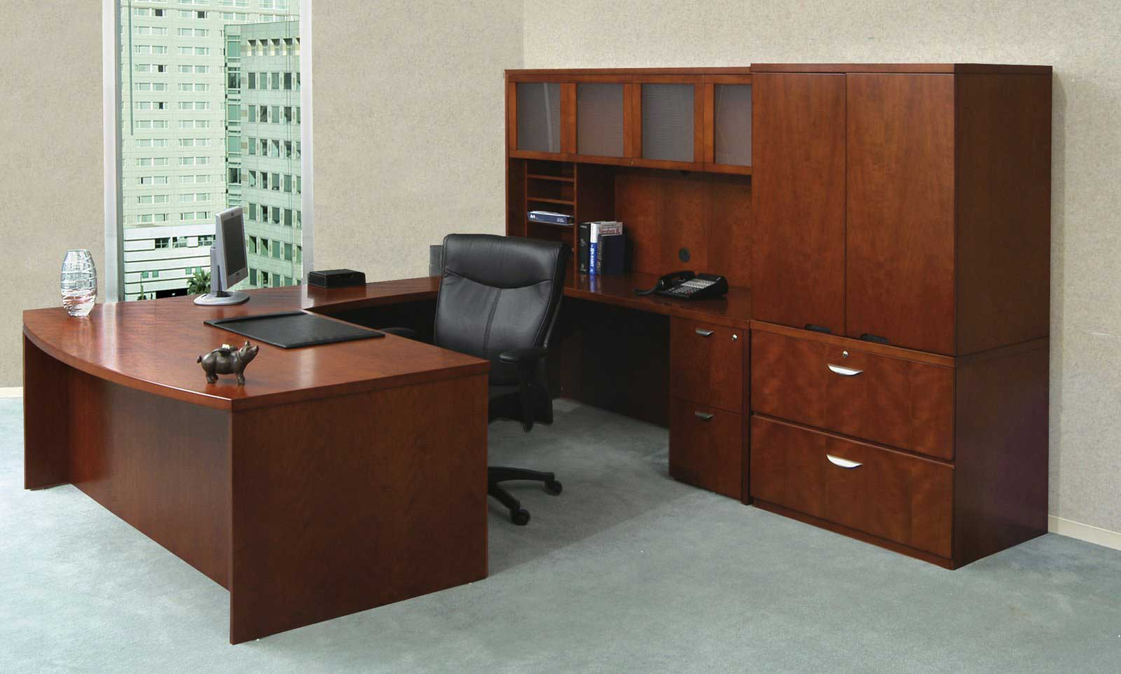 Mayline Mira Smart Executive Office Furniture Desks