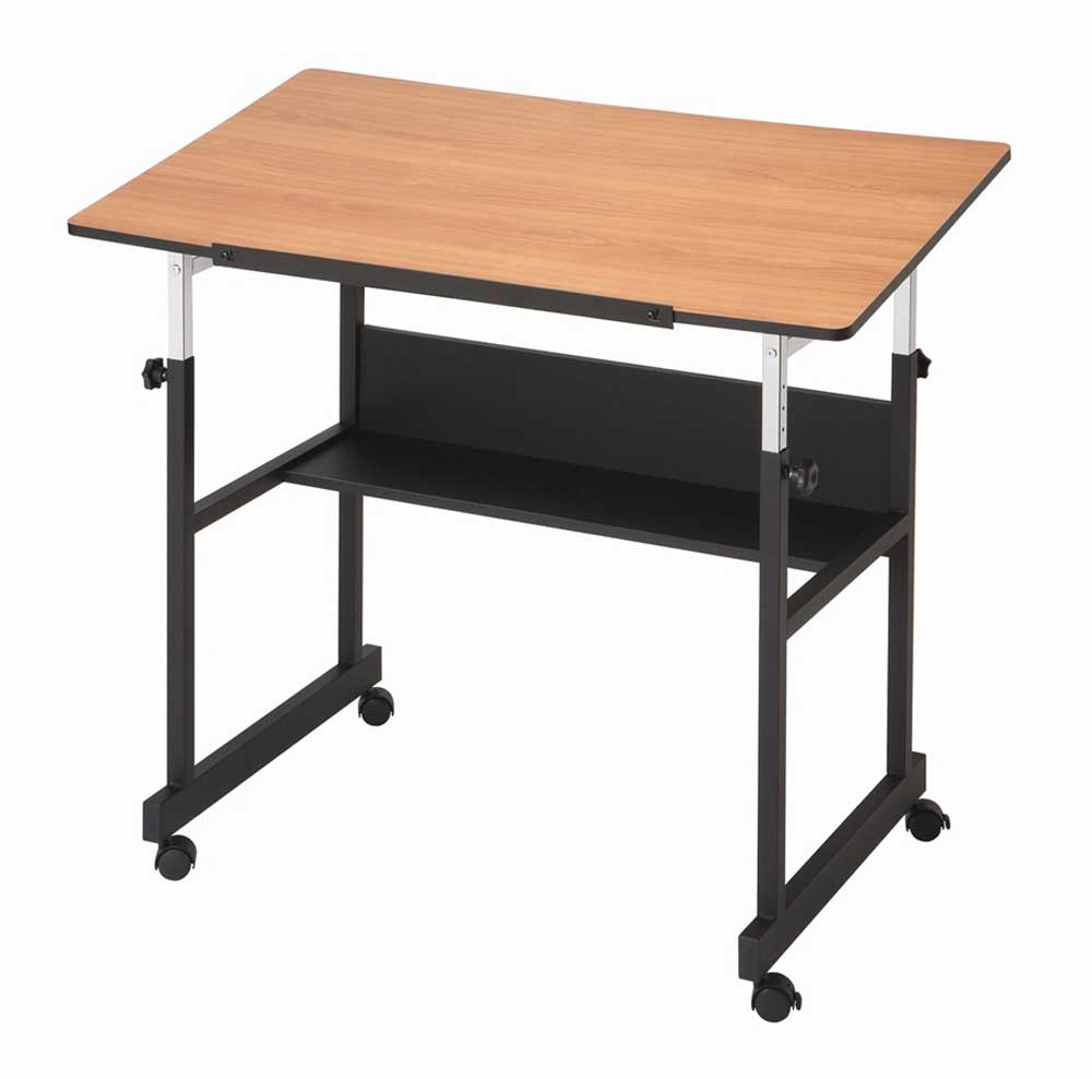 MiniMaster II Movable Wooden Drafting Table