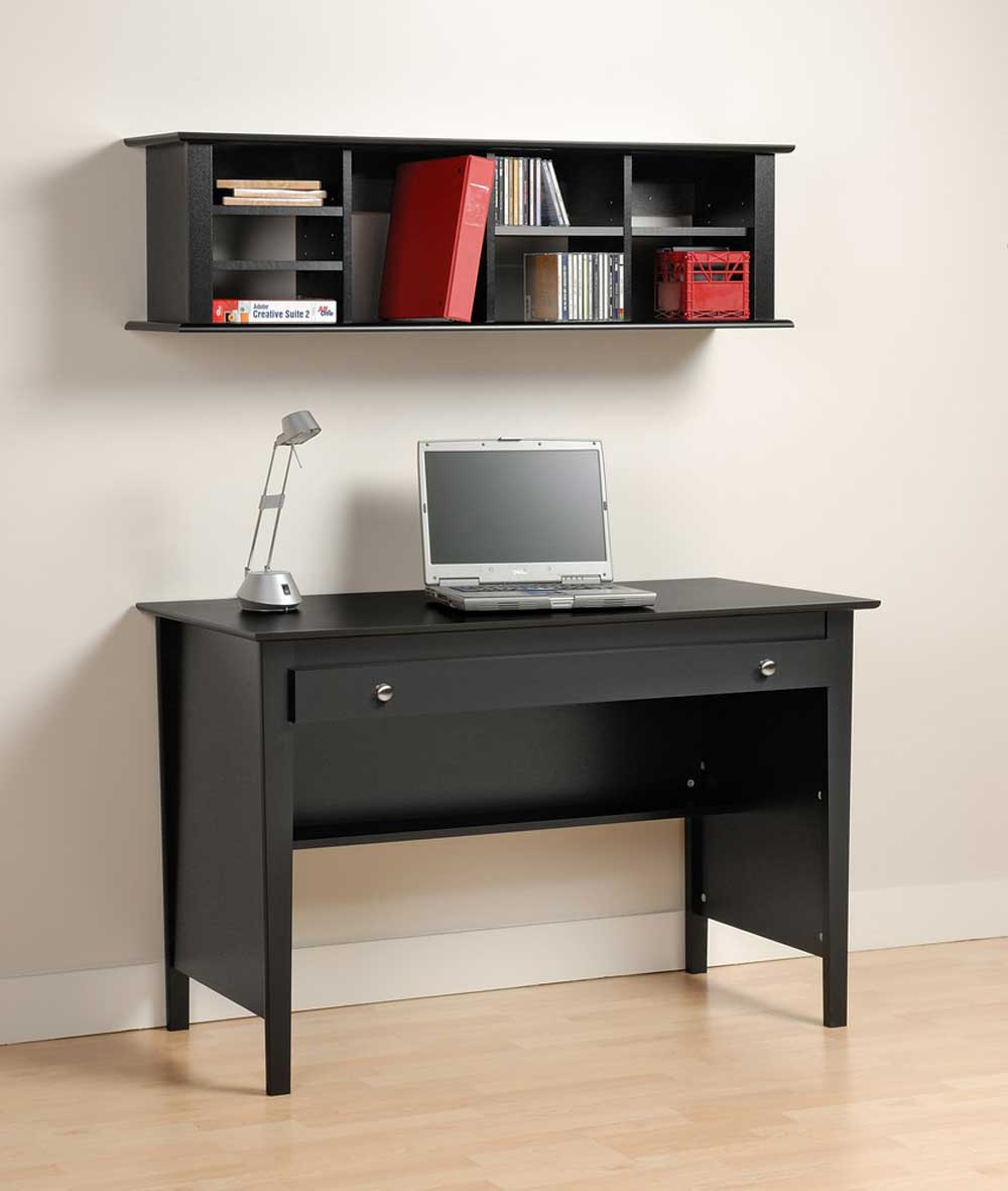 Modern Computer Secretary Desk with Wall hutch