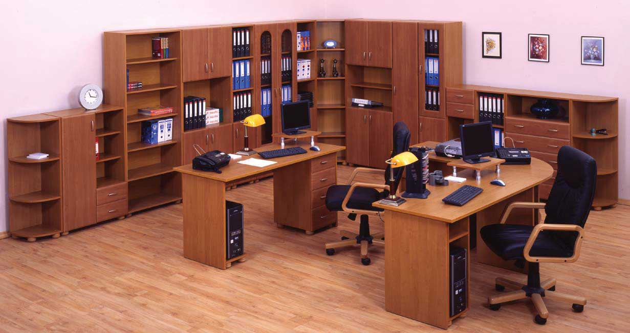 Modern office furniture ideas and layout