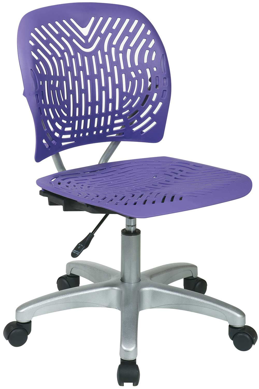 Office Star Armless Contemporary Office Computer Chairs