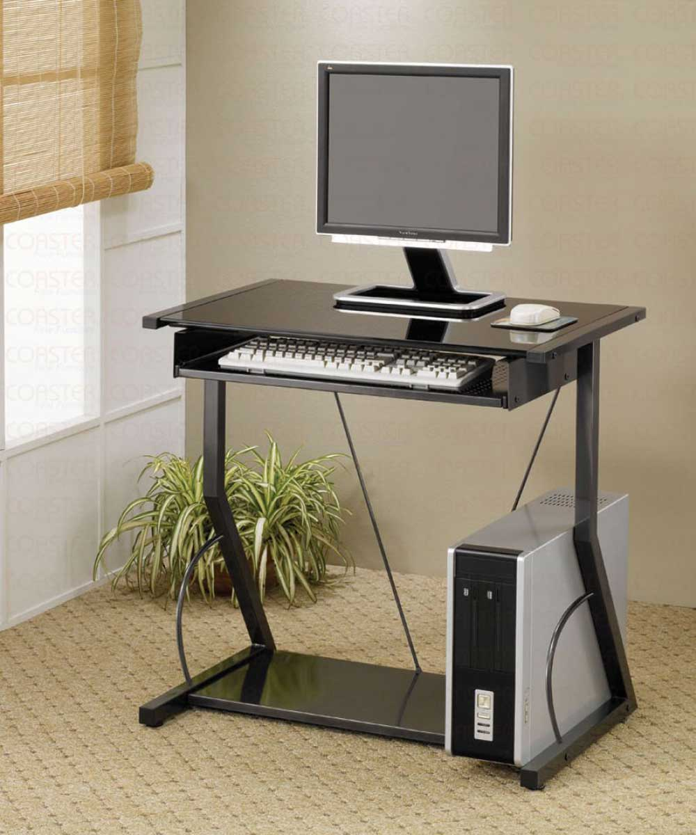 Solid Metal Small Computer Desk for Home