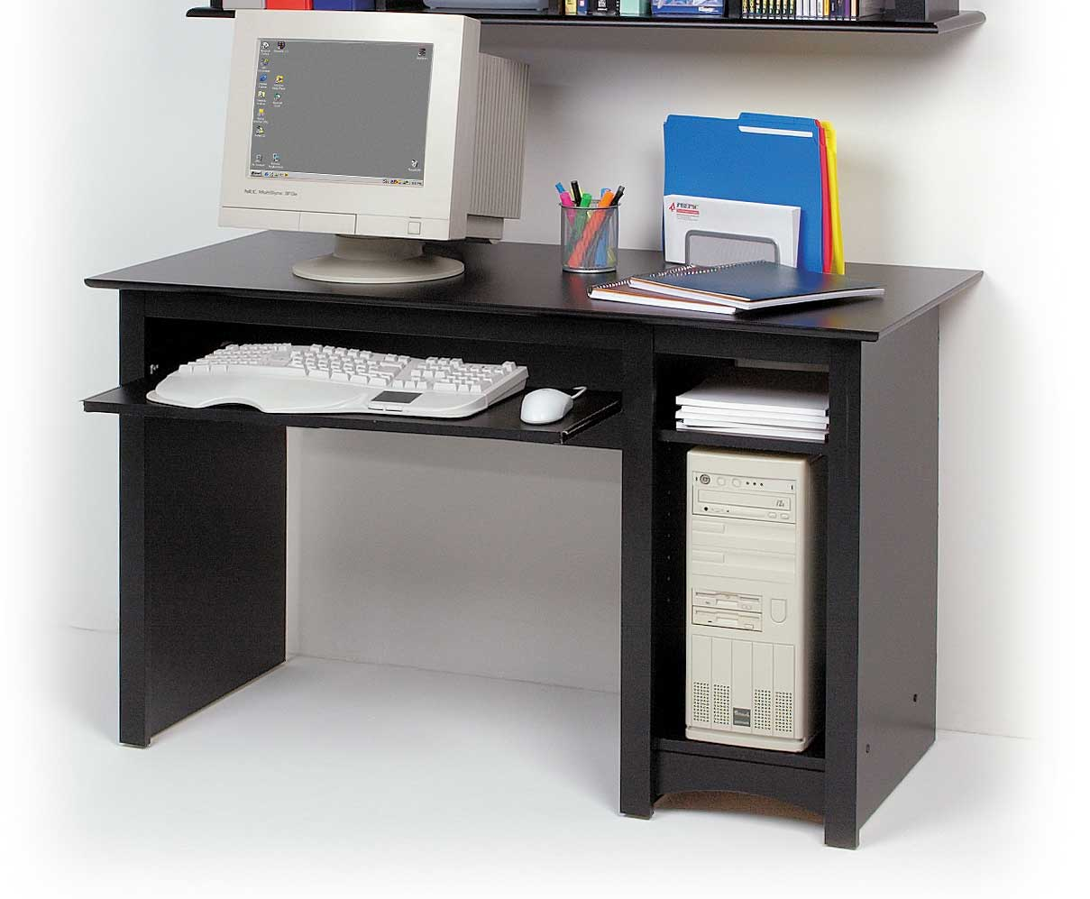 Sonoma Small Computer Desk Black Finish