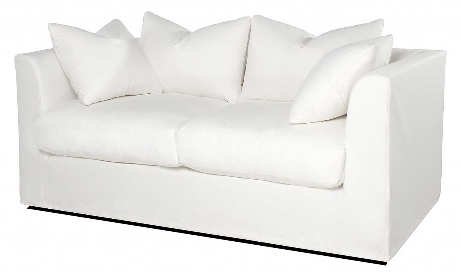 Upholstery White Sleeper Sofas Sectional with Slipcovers