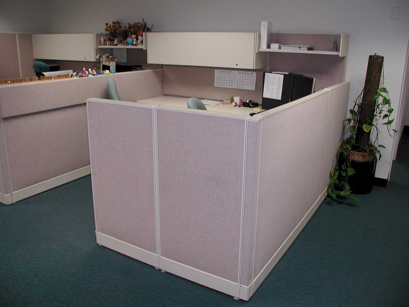 Used Small Office Cubicles and Room Dividers