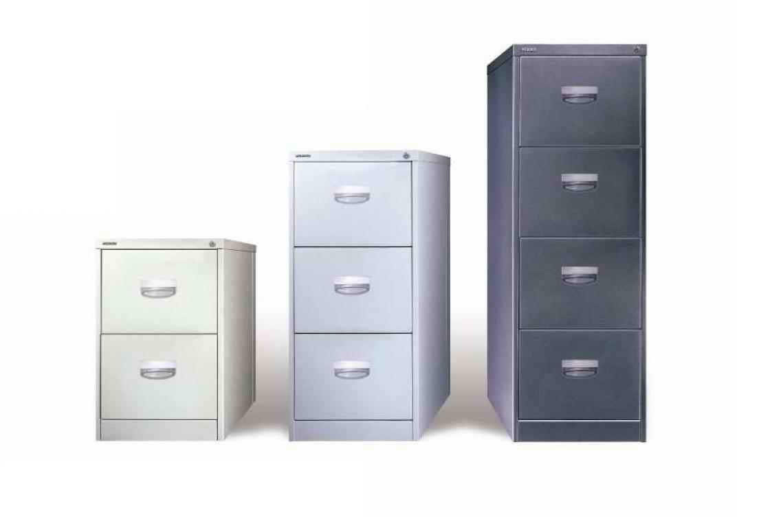 Vertical Metal Filing Cabinet for Office