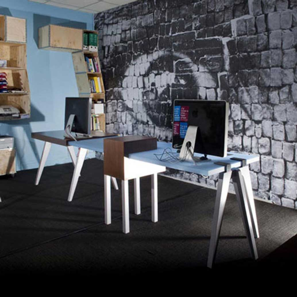 artistic stylish contemporary office furniture design