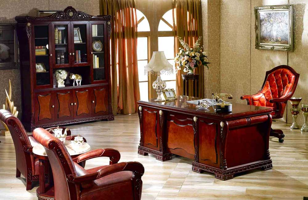 elegant home office furniture for executive