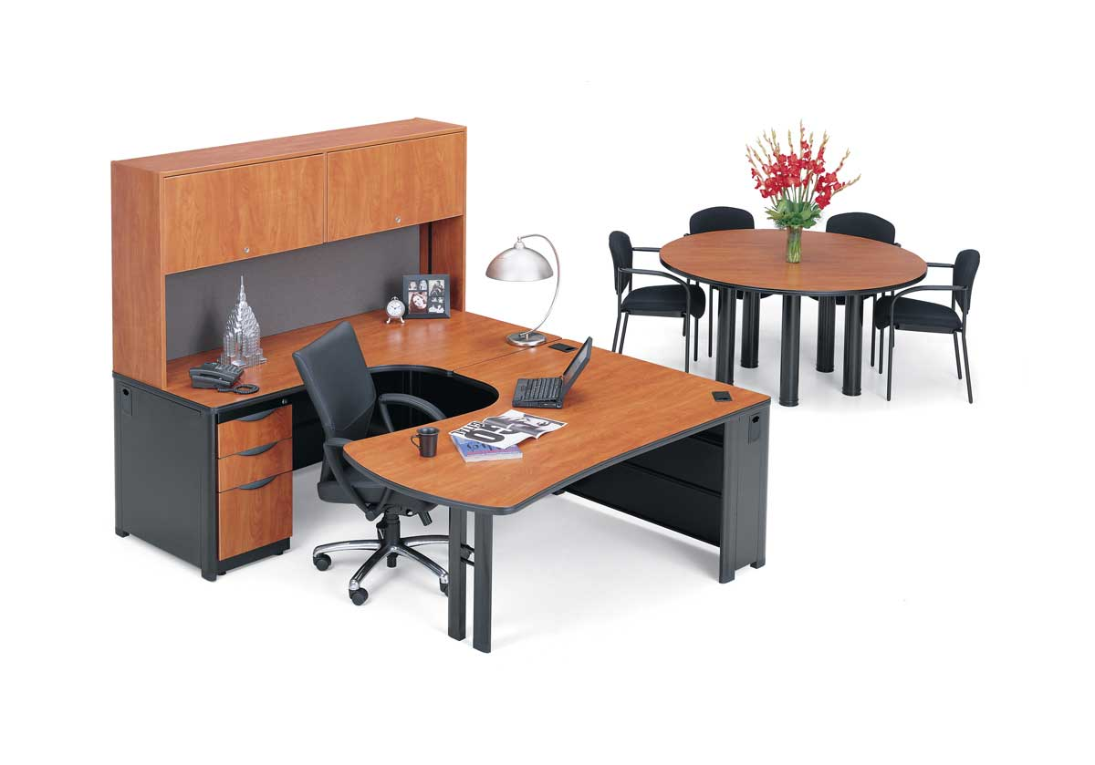executive used office workstations and desks