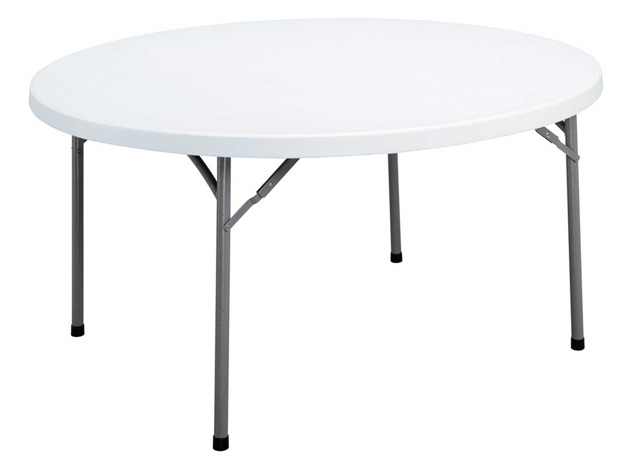 folding blow molded round tables