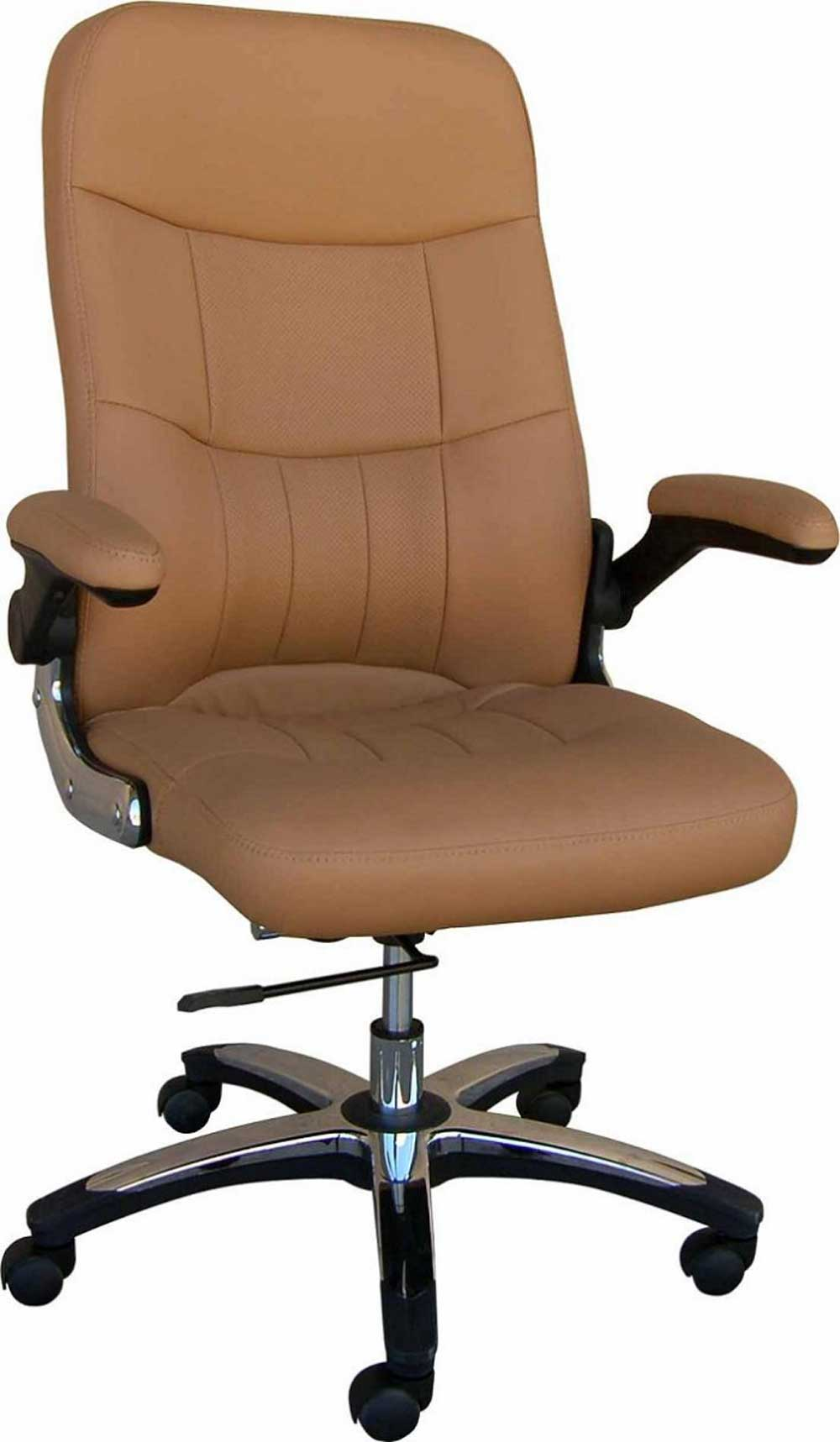 luxury brown adjustable office chairs