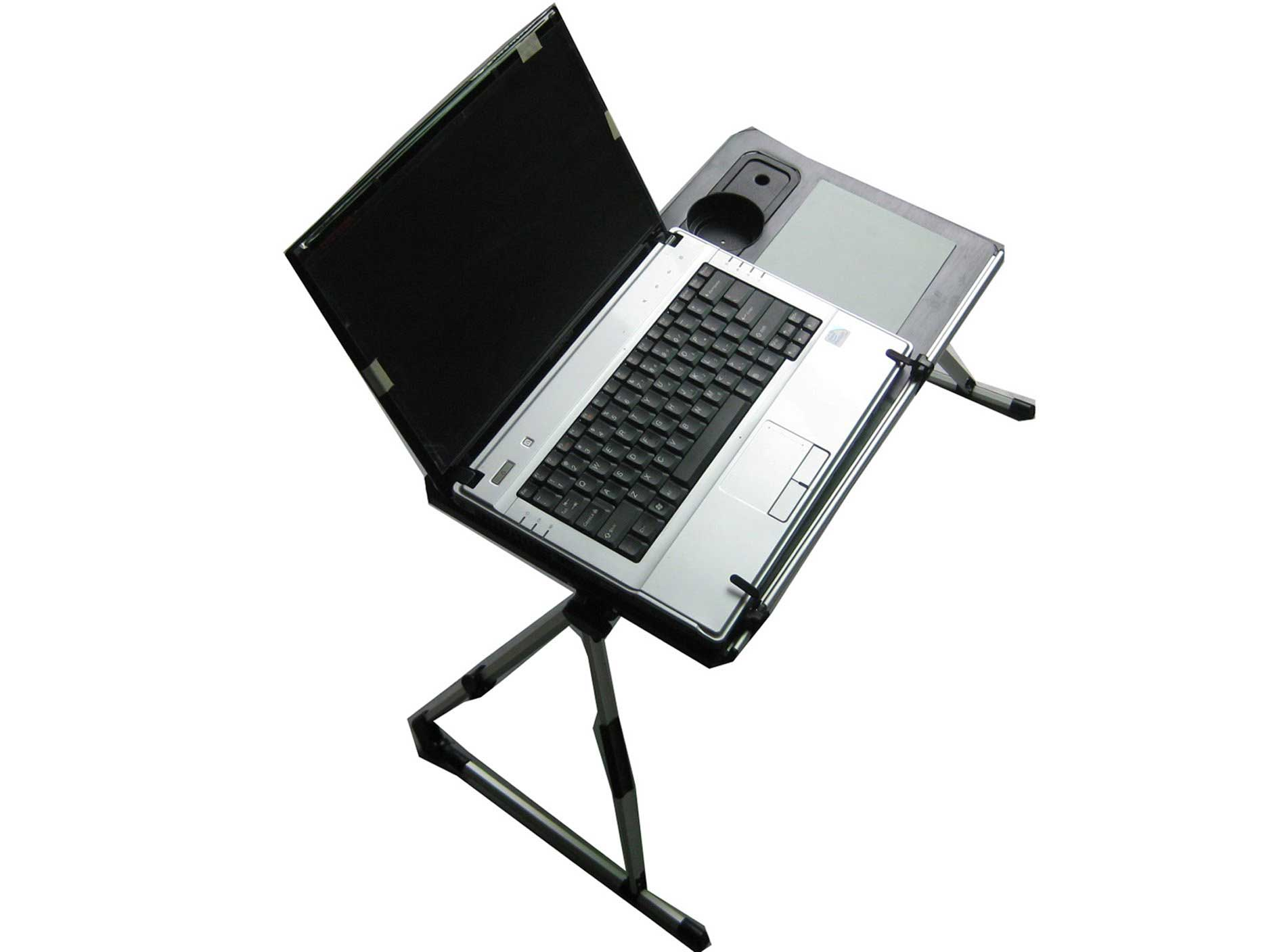 metal laptop computer stand with cooling