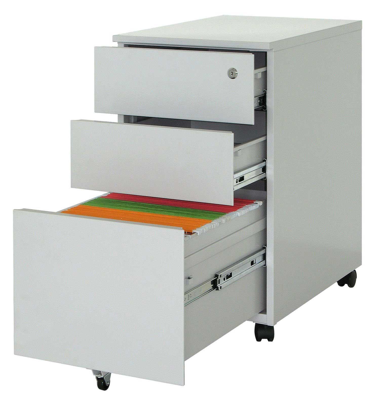 mobile metal file storage cabinets unit