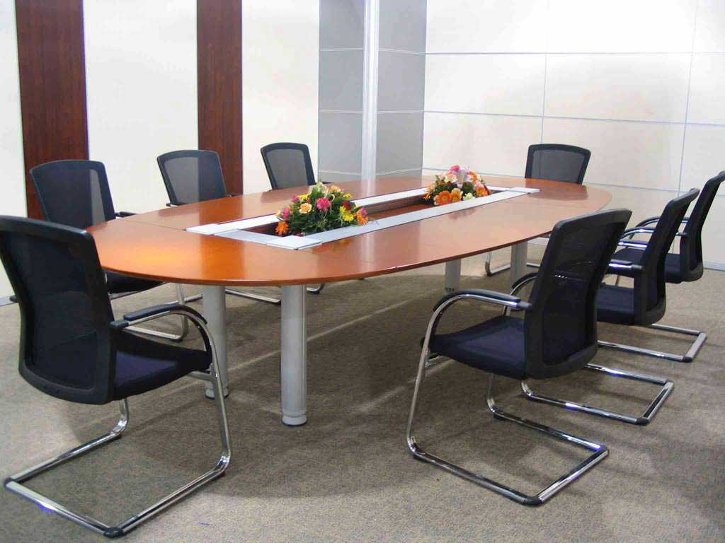 oval office furniture conference table with veneer