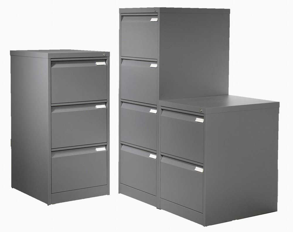 vertical black metal file cabinets for home office