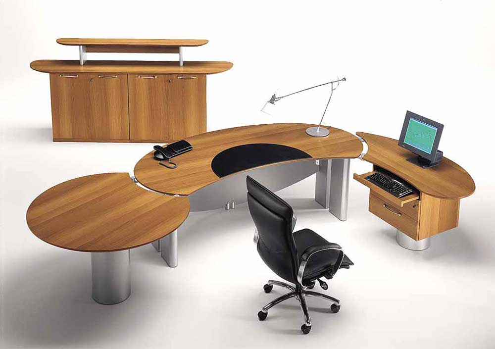 wood modular home office furniture collections