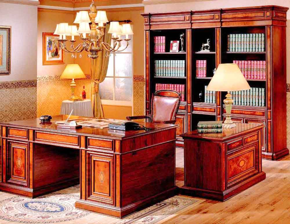 wooden executive luxury office furniture