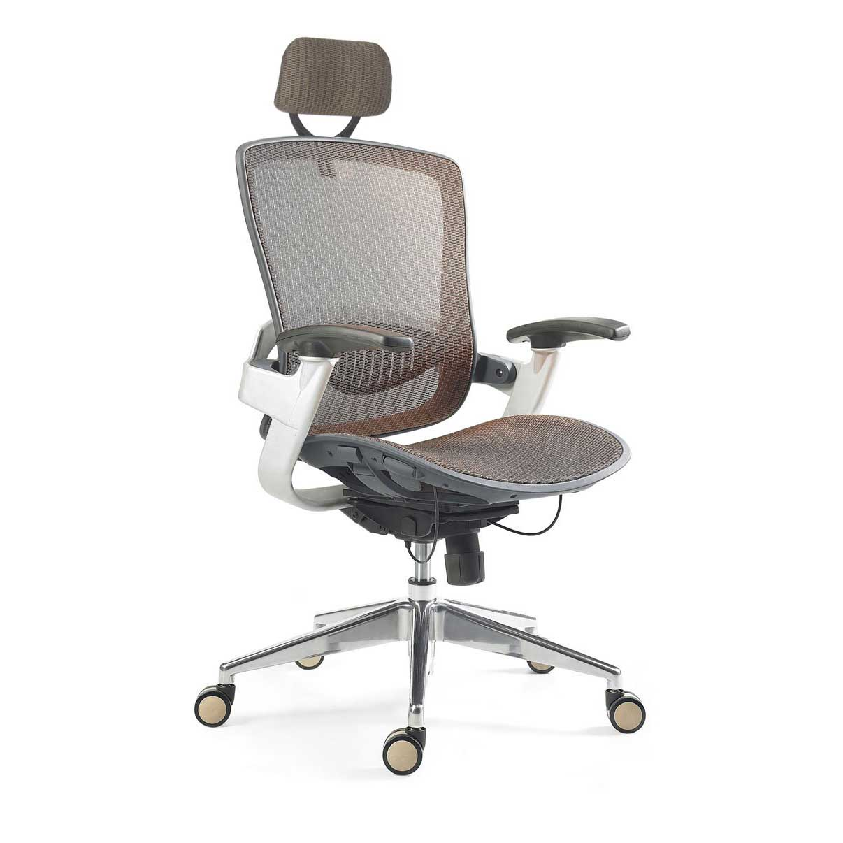 Adjustable Modern Mesh Home Office Chair with Headrest