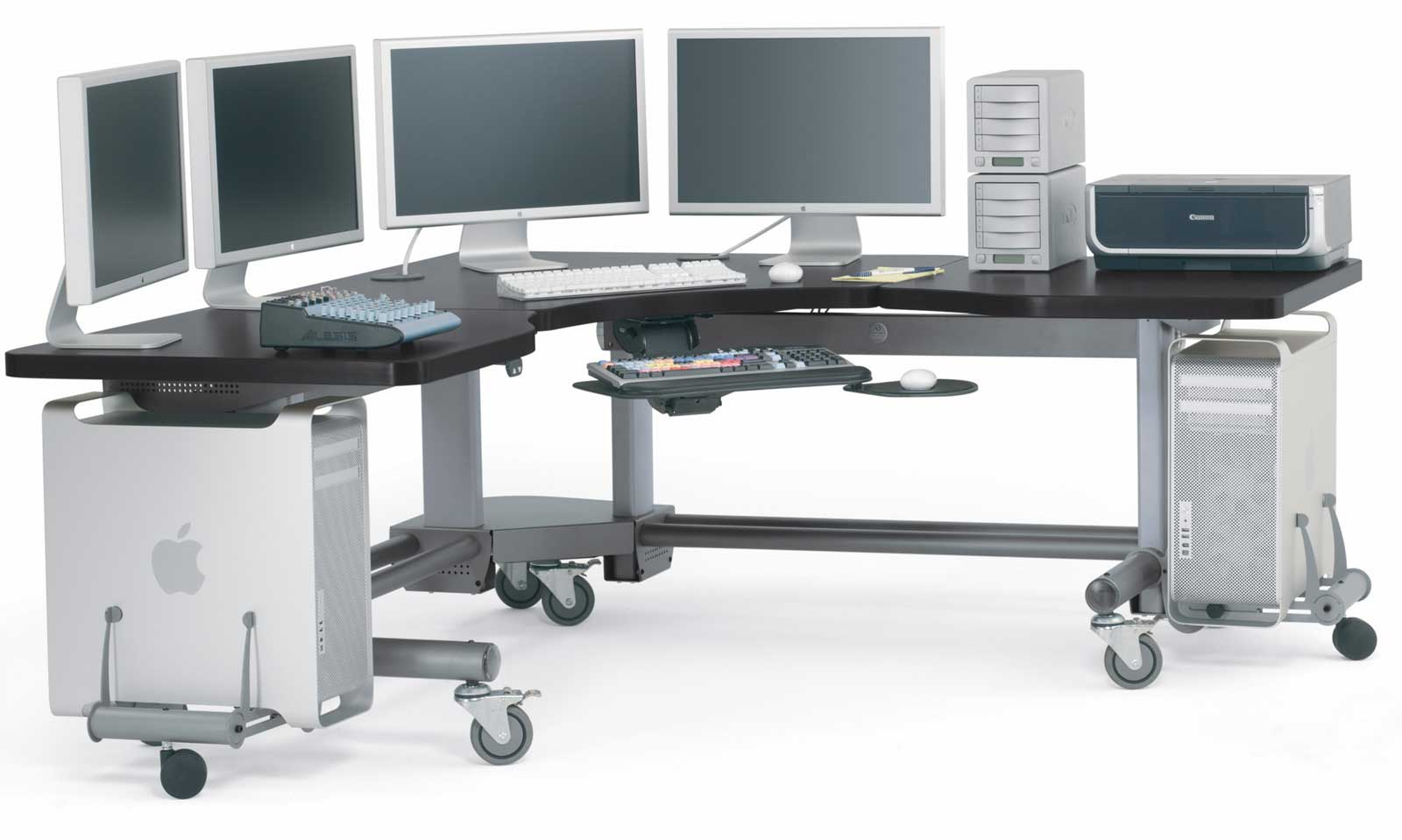 Anthro Elevate Corner Adjustable Height Workstation