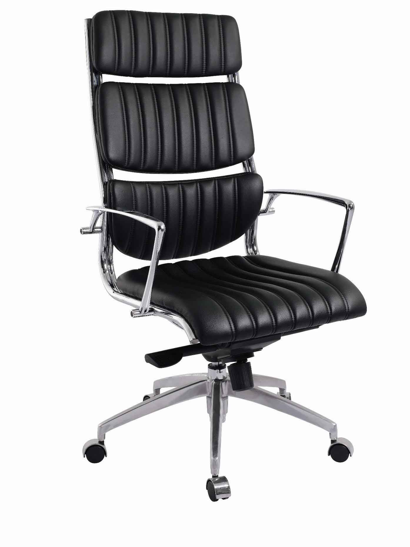 Armor High Back Stylish Office Chairs in Black