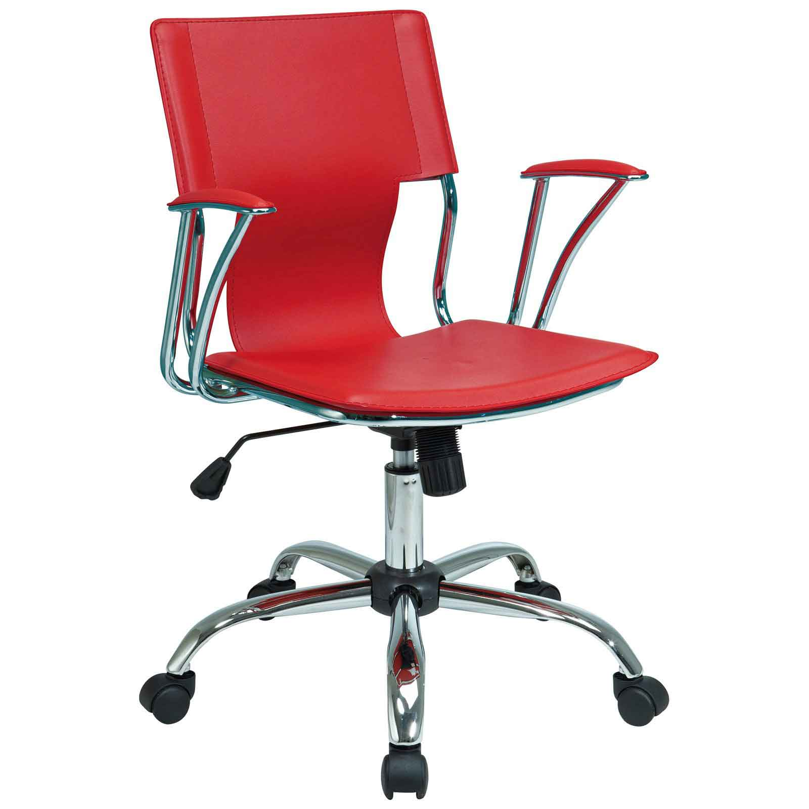 Avenue Six Red Stylish Office Chairs from Office Star