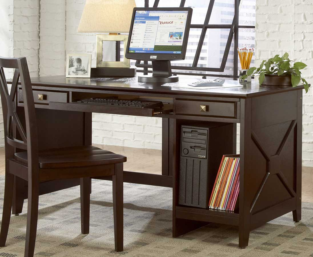 Britanica Oak Writing and Computer Desk