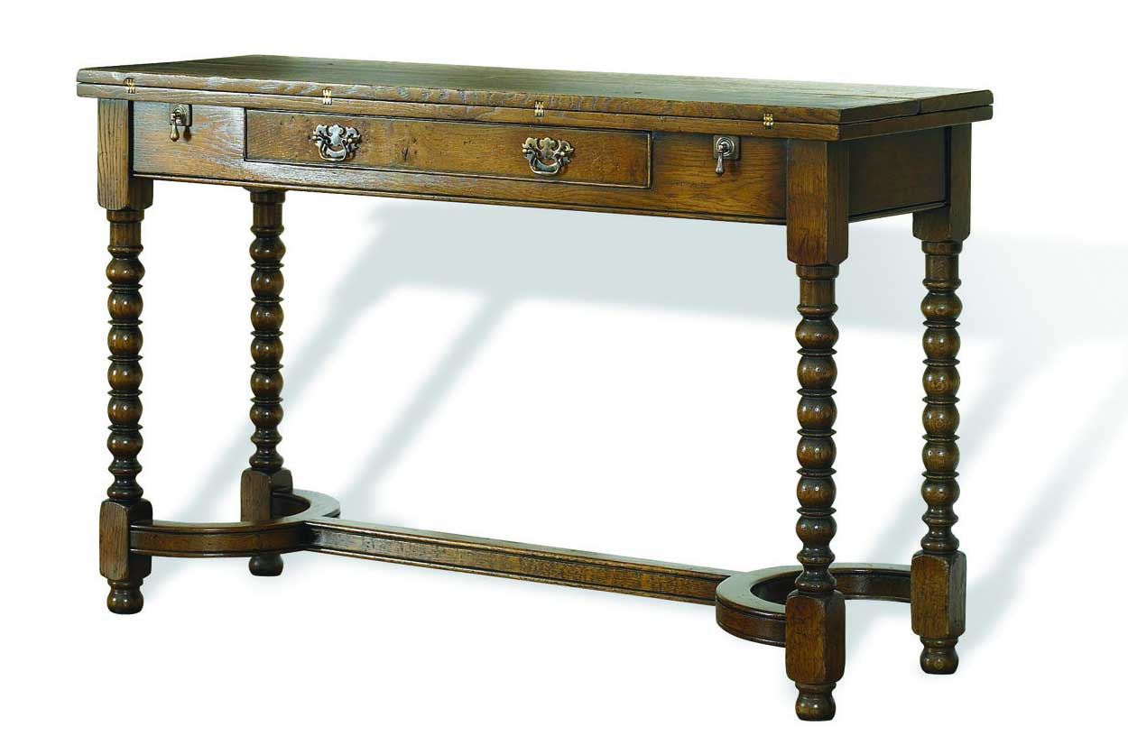 Broadoak Antique Console Folding Desk