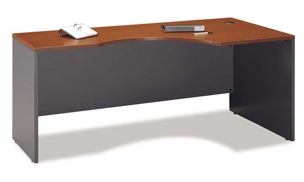 Bush Corsa Auburn Maple Corner Module Desk