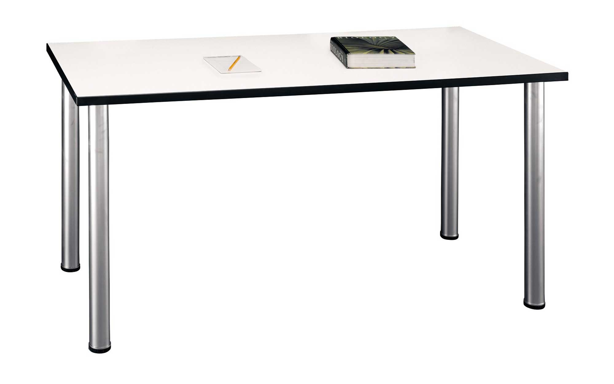 Bush Furniture Parts Aspen White Conference Table