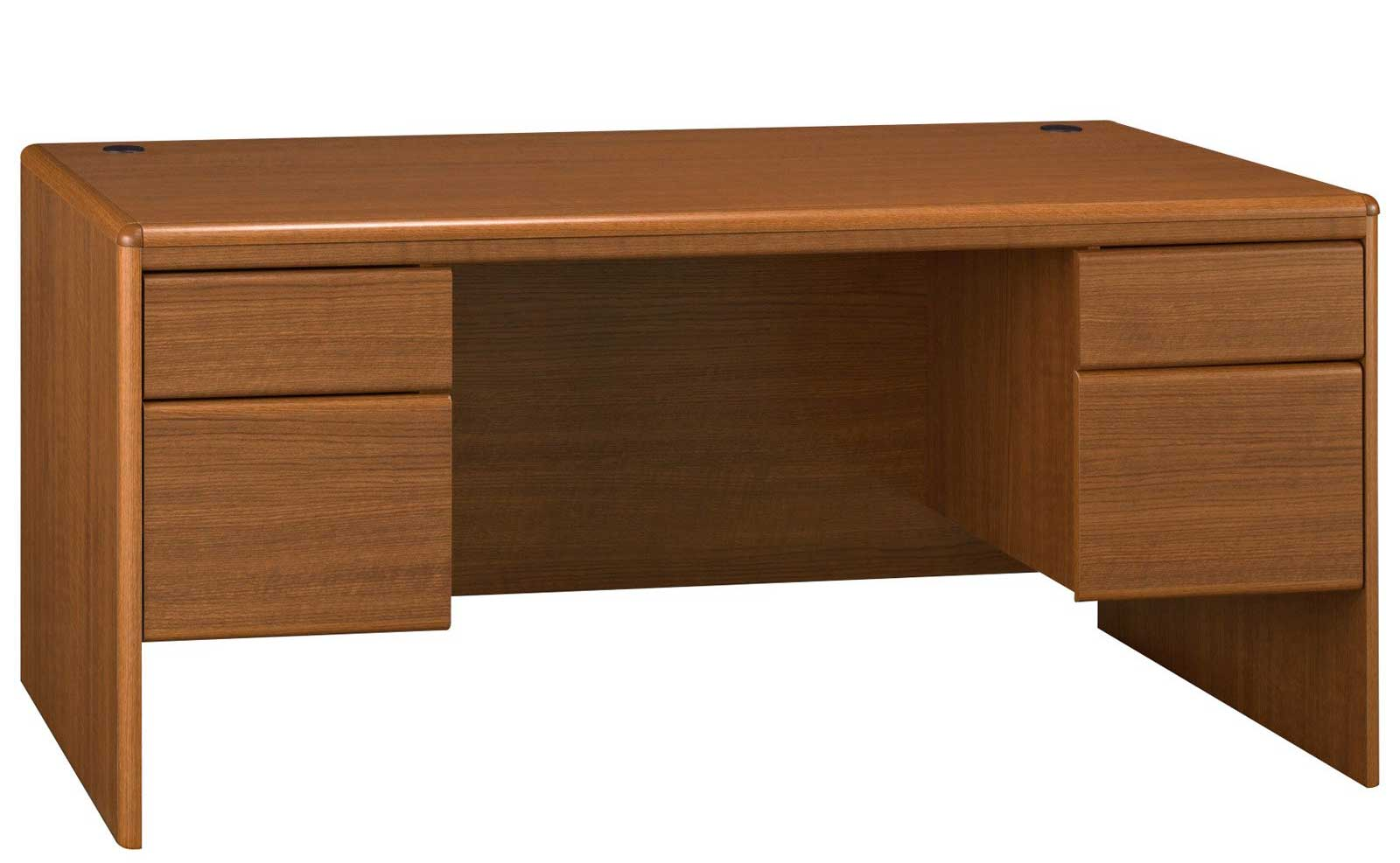 Bush Northfield Office Computer Desk with Double Pedestal