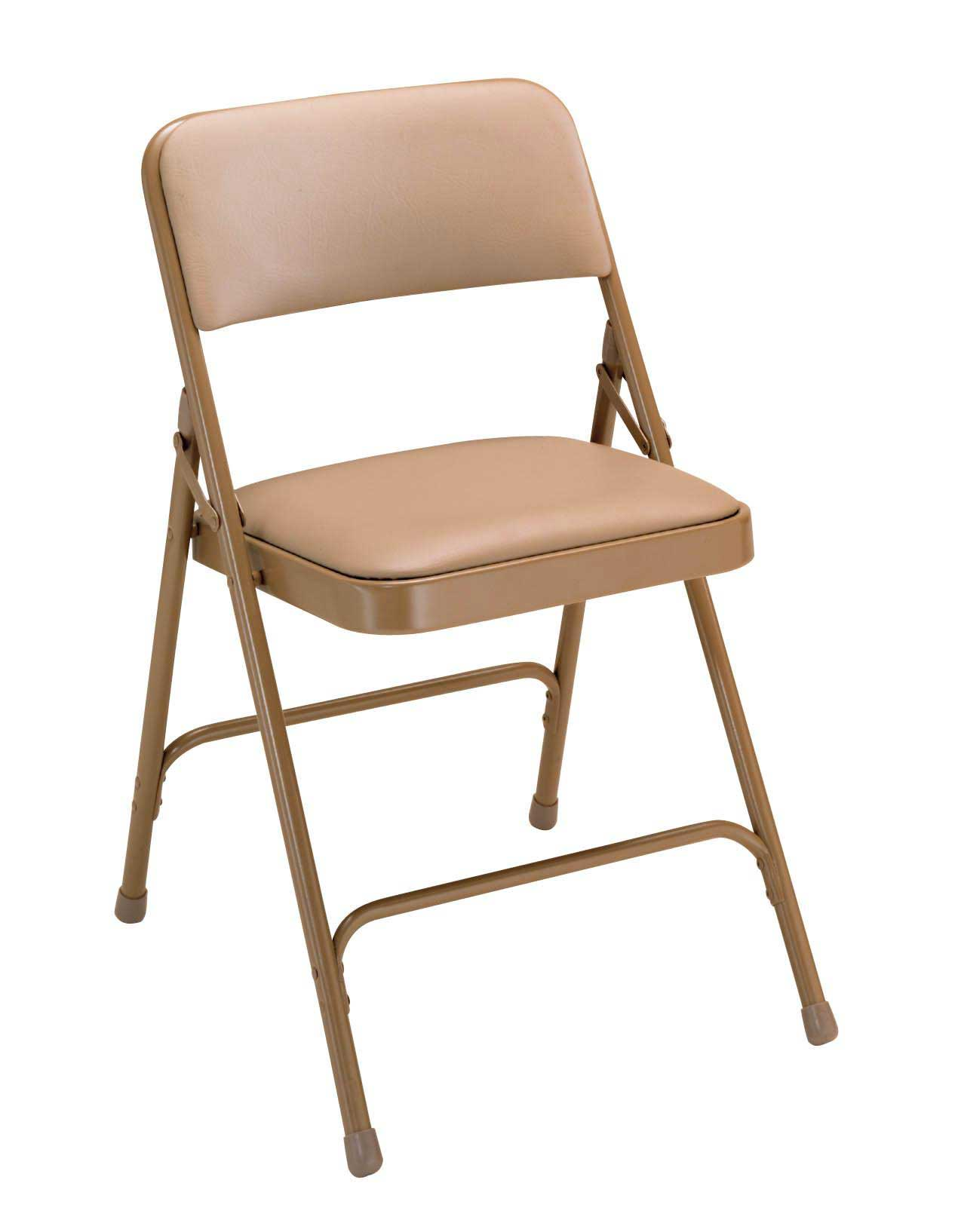 Classic Finish Vinyl Padded Folding Chair