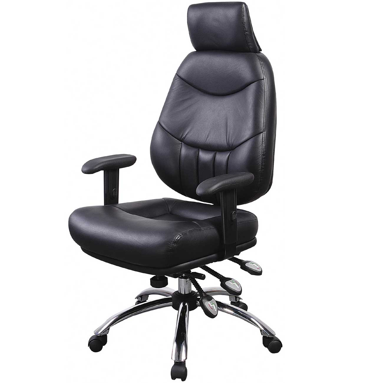 Ergonomic Arm Task Chairs with Headrest