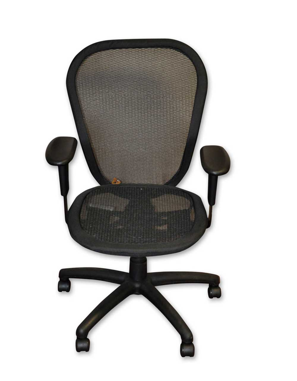 Five adjustments black ergonomic mesh chairs