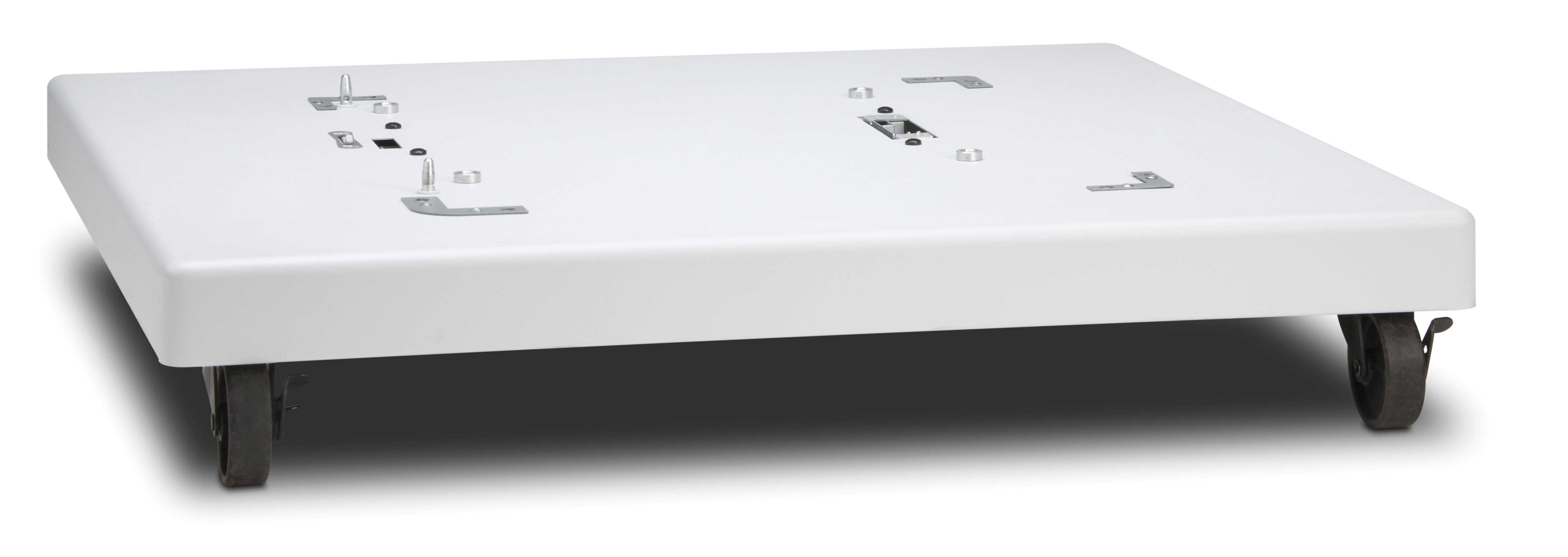 HP rolling printer stand with low height